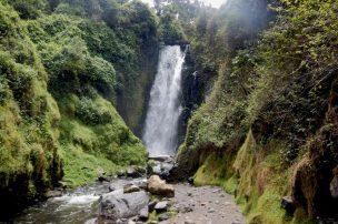 Otavalo - Wasserfall von Peguche
