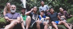 Ausflug mit Freunden und Voluntären zu den Wasserfällen Pimpilala