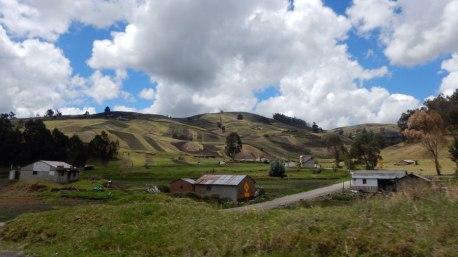 Weiterreise durch die Anden nach Alousi