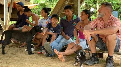 Besuch der Famile Chimbo in PukaUrku