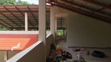 Obergeschoss noch im Ausbau